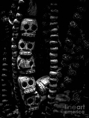 Skull Beads Print by James Aiken