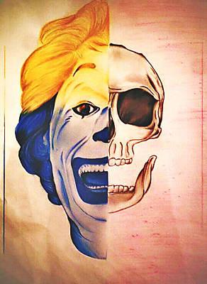 Skull Mad Original by Mohamed Hannoura