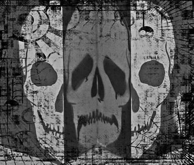 Skull Print by Marianna Mills
