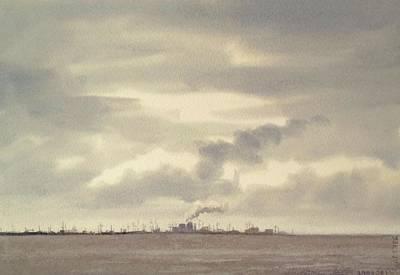 Sky And Water Original by Mineke Reinders