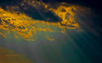 Sky Effects Print by DigiArt Diaries by Vicky B Fuller