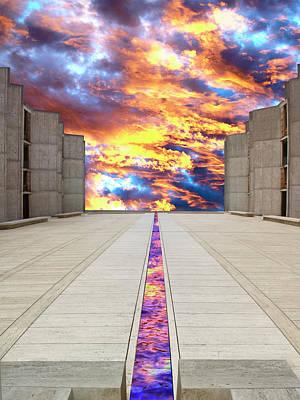 Sky Flow La Jolla Print by William Dey
