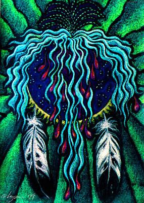 Sky Heart Print by Angela Treat Lyon