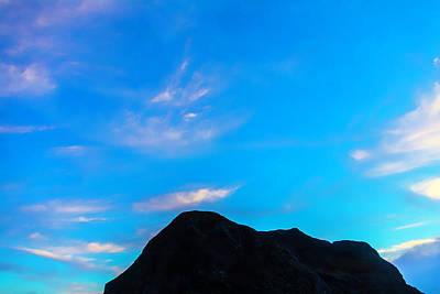 Costal Photograph - Sky Over Coastal Rocks by Garry Gay