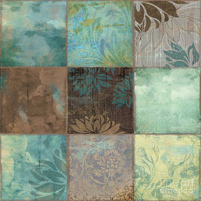 Sky Patches I Print by Mindy Sommers
