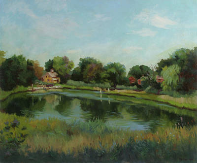 Stratford Painting - Sky Pond by Bruce Zboray
