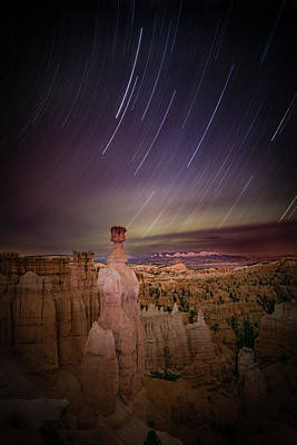 Bryce Canyon National Park Photograph - Sky Scraper by Edgars Erglis