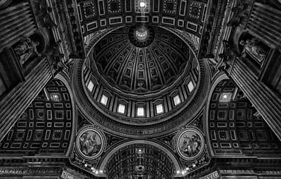 Church Pillars Photograph - Skylights by C.s.tjandra