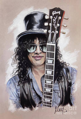 Slash Mixed Media - Slash 1 by Melanie D