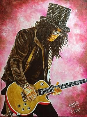 Slash - Saul Hudson Original by David Rhys