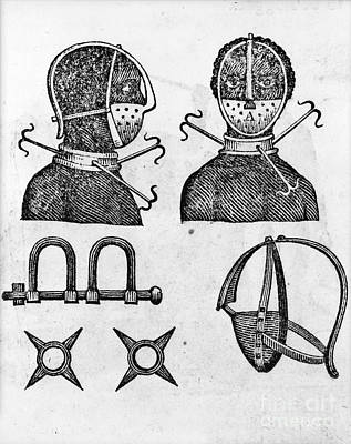 Slavery: Irons, 1807 Print by Granger