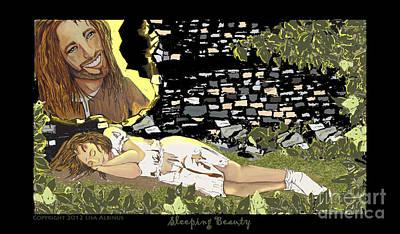 Sleeping Beauty Print by Lisa  Albinus