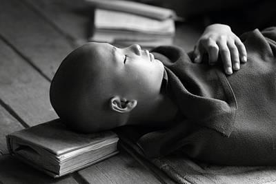 Sleeping Photograph - Sleeping Buddha by Walde Jansky