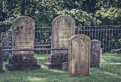 R.i.p Photograph - Sleepy Hollow Cemetery - Archer by Black Brook Photography