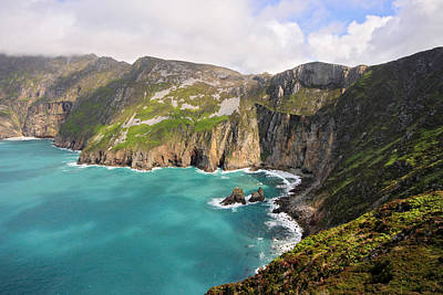 Slieve League Donegal Ireland Print by Pierre Leclerc Photography