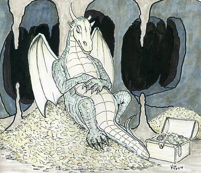 Dungeon Mixed Media - Slumber by Kurt Prather