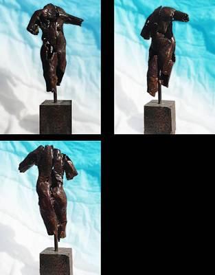 Sculpture - Sm. Torso Study by Don Thibodeaux