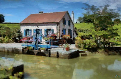 Photograph - Small House At The Pier by Sergey Lukashin