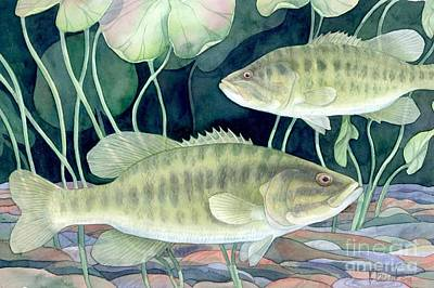 Smallmouth Bass Print by Paul Brent