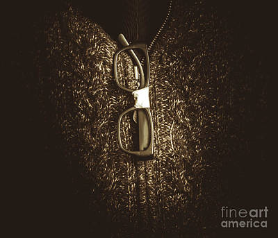 Optometry Photograph - Smart Mens Fashion  by Jorgo Photography - Wall Art Gallery