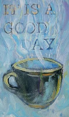 Smell The Coffee Print by Tilly Strauss