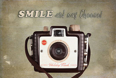 Kodak Photograph - Smile And Say Cheese by Tom Mc Nemar
