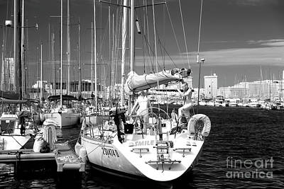 Smile At The Port Print by John Rizzuto
