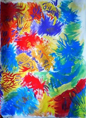 Pai Painting - Smile by Petar Petrov