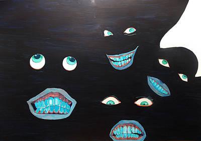 Painting - Smiles by Lazaro Hurtado