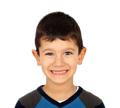 Smiling Boy Print by Boyan Dimitrov