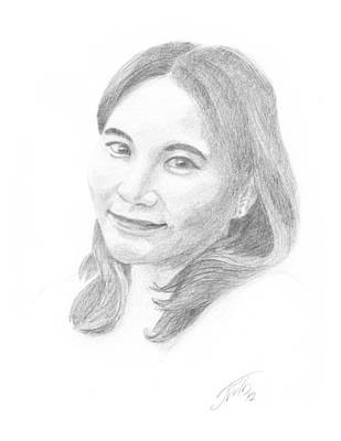 Smiling Girl Original by Masha Batkova