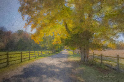 Mcentee Painting - Smith Farm October Glory by Bill McEntee