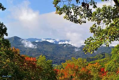 Smokey Mountain Drive Photograph - Smokey Mountain Mountain Landscape by James Fowler