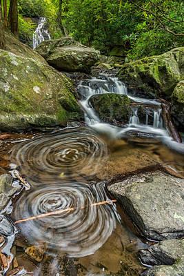 Smoky Mountain Swirl Print by Jon Reynolds