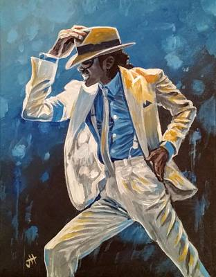 Mj Painting - Smooth Criminal by Jennifer Hotai