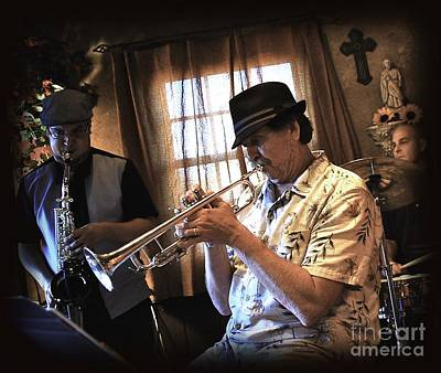 Live Jazz Quartet Photograph - Smooth by Matthew Heller