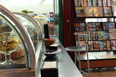 Snack Bar Photograph - Snack Bar by MaFer Vieira