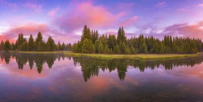 Snake River Sunrise Print by Darren White