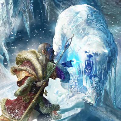 Bear Digital Art - Snap Freeze by Ryan Barger