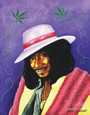 Rap Painting - Snoop Dogg by Kristi L Randall
