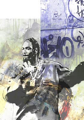New York City Painting - Snoop Graffitti  26 by Jani Heinonen