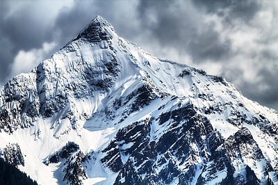 Mountain Scape Photograph - Snow Cap by Naman Imagery