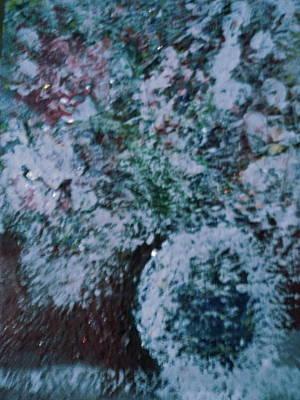 Snow Globe Gone Wild II Print by Anne-Elizabeth Whiteway