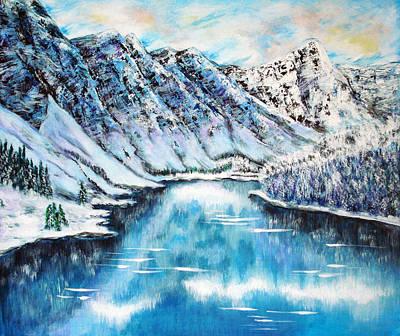 Spirit Catcher Painting - Snow In November by Katreen Queen