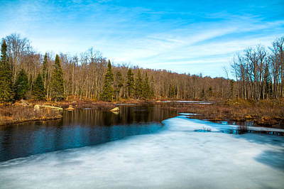 Hdr Photograph - Snow Melt by David Patterson