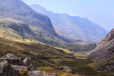 Snowdon Photograph - Snowdonia - Wales by Joana Kruse