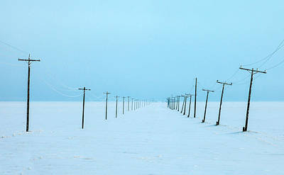 After The Storm Photograph - Snowed In by Todd Klassy