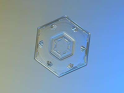 Inspirational Photograph - Snowflake Photo - Cryogenia by Alexey Kljatov
