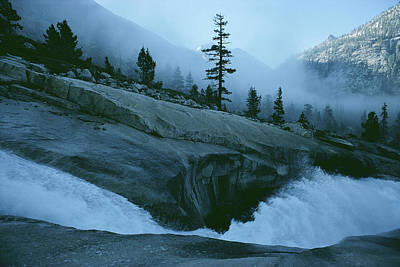 Snowmelt Thunders Down Woods Creek High Print by Sam Abell
