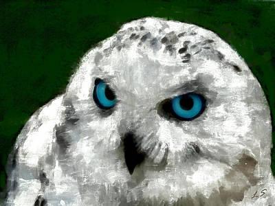 Snowy Owl Original by Sergey Lukashin